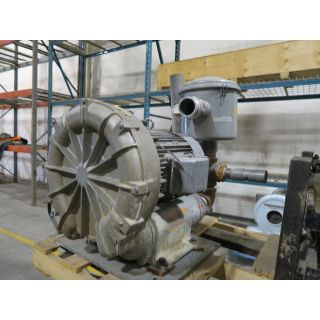 Pre-Owned - SIDE CHANNEL BLOWER - SAMOS SERIES - BUSH - FBC3570-7 - 570 CFM - 20 HP - FOR SALE