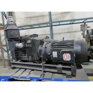 Pre-Owned - Vacuum and Pressure Pumps - BUSH Mink MI BV Series - MI 1502-BV - 15 HP - 3500 RPM - FOR SALE
