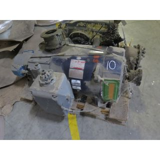 MOTOR - DC - GENERAL ELECTRIC - 75 HP - 500 V ARM. - 240 V FIELD