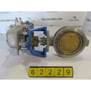 """BUTTERFLY VALVE - JAMESBURY 815W - 6"""" - USED"""