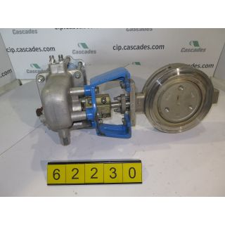 "BUTTERFLY VALVE - JAMESBURY 815W - 6"" - USED"