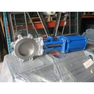 "KNIFE GATE VALVE - 8"" - VELAN - PNEUMATIC - METAL SEAT"