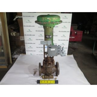 "LINEAR - GLOBE VALVE - FISHER ED - 4"" - USED"