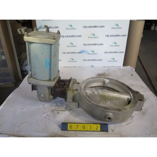 "BUTTERFLY VALVE - JAMESBURY 815W - 18"" - USED"