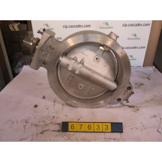 "BUTTERFLY VALVE - JAMESBURY - 18"" - USED"