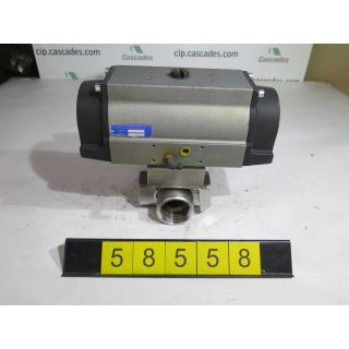 "BALL VALVE - 3 WAY - TRI-STATE - 2"" - USED"