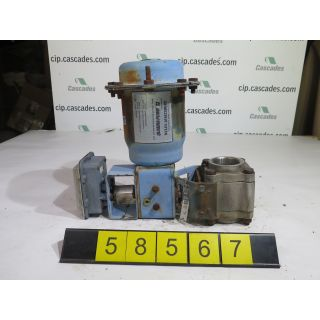 "BALL VALVE - JAMESBURY 2-4A-3600-TT1-A - 2"" - USED"