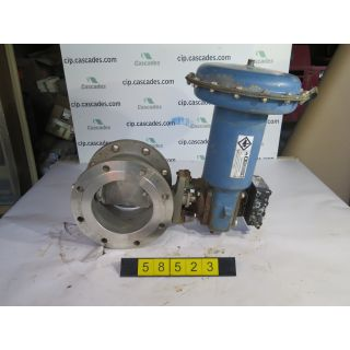 "V-BALL VALVE - DEZURIK - 8"" - USED"