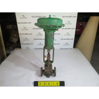 "LINEAR - GLOBE VALVE - FISHER EZ - 1"" - USED"