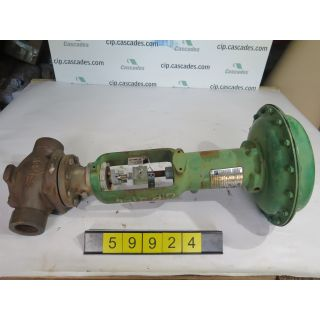 "LINEAR - GLOBE VALVE - FISHER EZ - 2"" - USED"