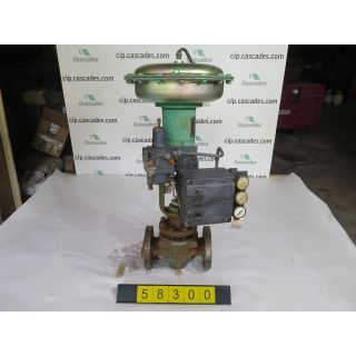 "LINEAR - GLOBE VALVE - FISHER EZ - 1.500"" - USED"