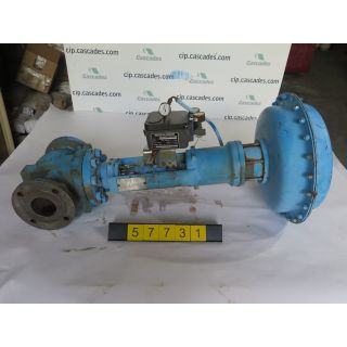"LINEAR - GLOBE VALVE - JAMESBURY - 3"" - USED"