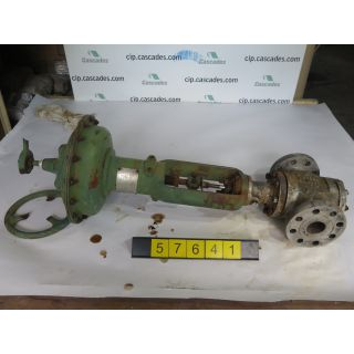 "LINEAR - GLOBE VALVE - FISHER - 2"" - USED"