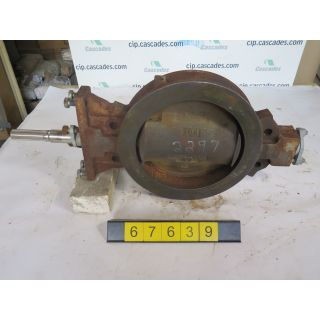 "BUTTERFLY VALVE - FISHER - 12"" - USED"