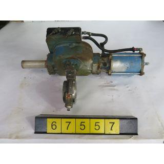 "BUTTERFLY VALVE - DEZURIK BHP - 2"" - USED"