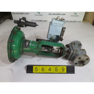 "LINEAR GLOBE VALVE - FISHER EZ - 1"" - USED"