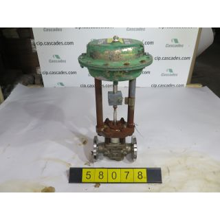 "GLOBE VALVE - FISHER GL - 1"" - USED"