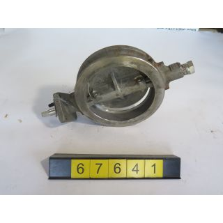 "BUTTERFLY VALVE - JAMESBURY DF514/128 - 8"" - USED"