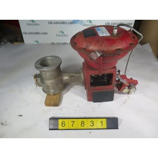 "V-BALL VALVE - MASONEILAN 33-36112 - 4"" - USED"