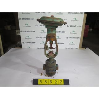 "LINEAR - GLOBE VALVE - MASONEILAN - 1.250"" - USED"