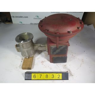 "V-BALL VALVE - MASONEILAN - 4"" - USED"
