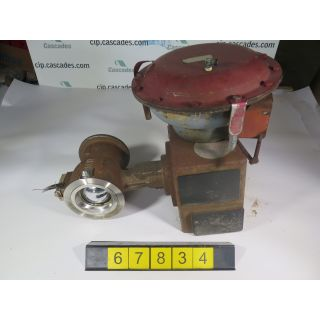 "V-BALL VALVE - MASONEILAN 33-36422 - 4"" - USED"