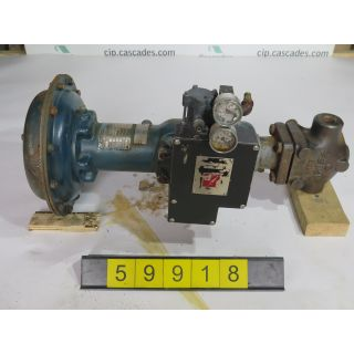 "LINEAR - GLOBE VALVE - FISHER - 3/4"" - USED"