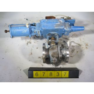 "V-BALL VALVE - DEZURIK KTM - 2"" - USED"