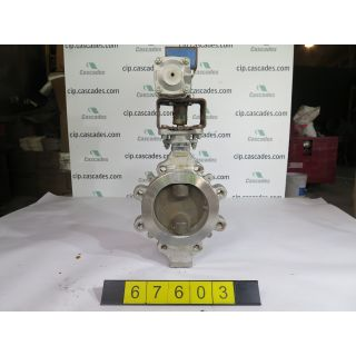 "BUTTERFLY VALVE - KEYSTONE 362 - 6"" - USED"