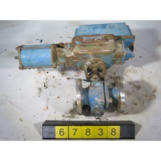 "V-BALL VALVE - DEZURIK 9062557 - 2"" - USED"