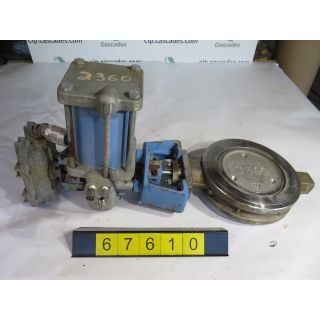 "BUTTERFLY VALVE - JAMESBURY - 815W - 8"" - USED"