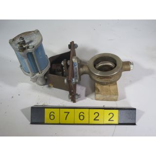 """BUTTERFLY VALVE - JAMESBURY 815W - 3"""" - USED"""