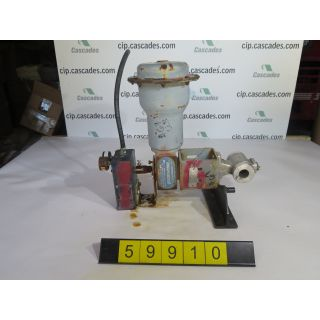 "V-BALL VALVE - NELES JAMESBURY R11 - 1"" - USED"