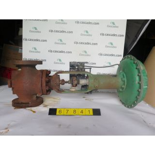 "LINEAR - GLOBE VALVE - FISHER - 4"" - USED"