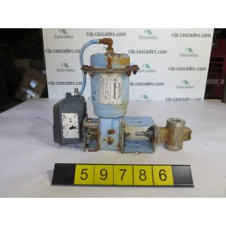 "V-BALL VALVE - NELES JAMESBURY 15R - 1"" - USED"
