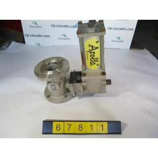 "BALL VALVE - APOLLO COMBRACO - 3"" - USED"