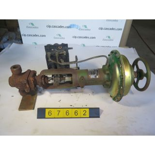 "LINEAR - GLOBE VALVE - FISHER - 1"" - USED"