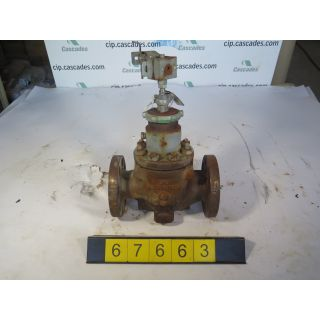 "LINEAR - GLOBE VALVE - FISHER A1282-1 - 2"" - USED"