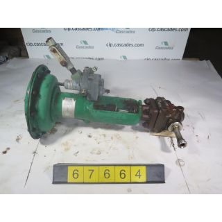 "LINEAR - GLOBE VALVE - FISHER EZ - 1/2"" - USED"