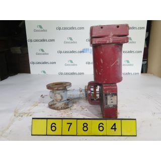 "ROTARY - GLOBE VALVE - MASONEILAN 35-35112 - 1.500"" - USED"