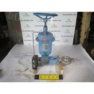 "BUTTERFLY VALVE - JAMESBURY 815W - 4"" - USED"