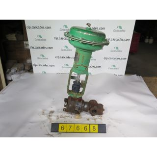V-BALL VALVE - FISHER - 1.500 - USED
