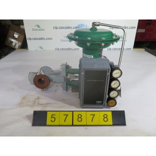 "V-BALL VALVE - FISHER V200 - 1.500"" - USED"