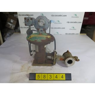 "V-BALL VALVE - FISHER V100-1052 - 2"" - USED"