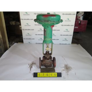 "LINEAR - GLOBE VALVE - FISHER ED - 1.250"" - USED"