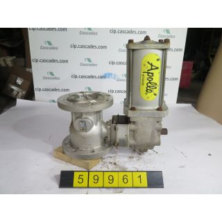 "BALL VALVE - APOLLO - 4"" - USED"