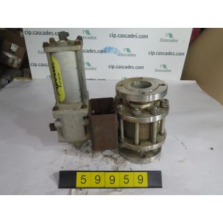 "BALL VALVE - APOLLO A182-F316 - 3"" - USED"