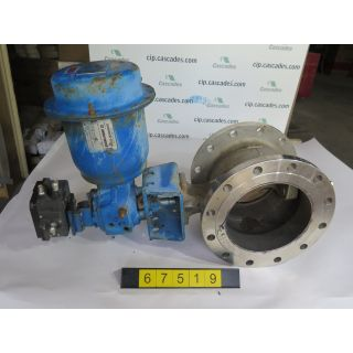 "V-BALL VALVE - NELES JAMESBURY R21 - 10"" - USED"