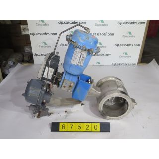 "V-BALL VALVE - NELES JAMESBURY R11 - 6"" - USED"