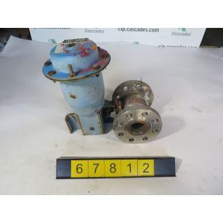 """BALL VALVE - NELES JAMESBURY 5325 - 2"""" - USED"""